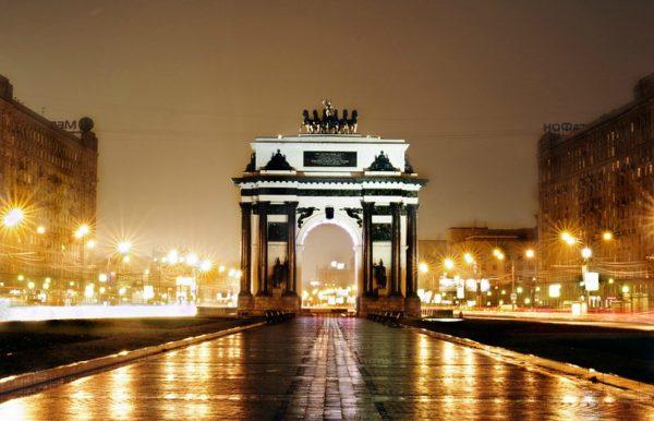 Картинки красивая зима в парке с аркой