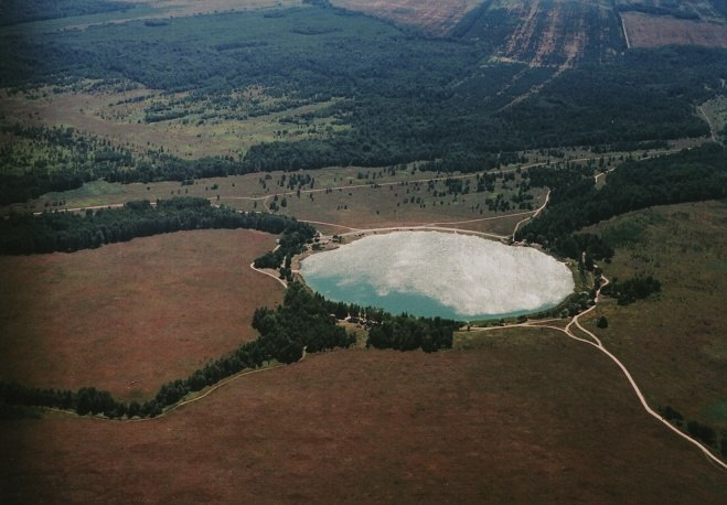 Озеро в Борках